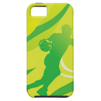 Sports, Baseball, Active, Energy, Green Look iPhone SE/5/5s Case