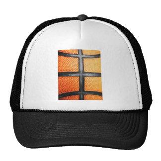 Sports baseball close up texture Circle Ener Trucker Hat
