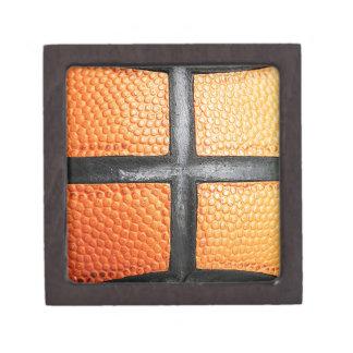 Sports baseball close up texture Circle Youth Ener Premium Trinket Boxes