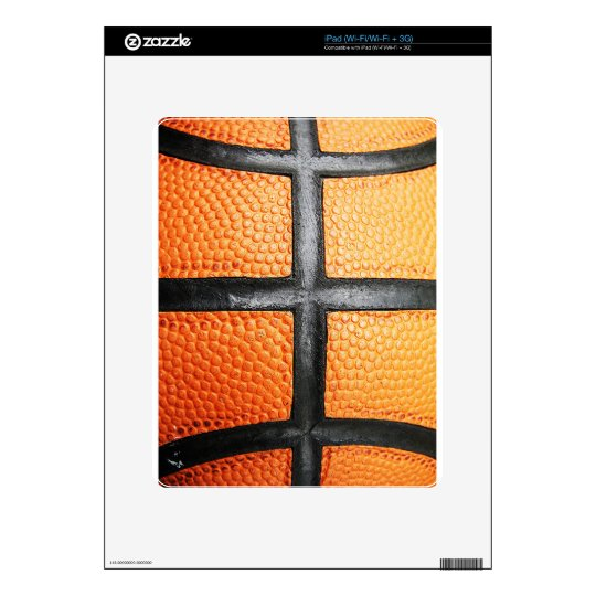 Sports baseball close up texture Circle Youth Ener Skin For iPad