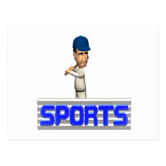 Sports Baseball Postcard