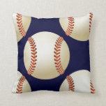 sports baseball throw pillow