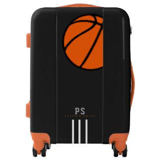sports basketball / basket-ball orange ball luggage