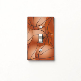 Sports Basketball Switch Plate Covers