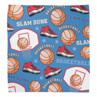 SPORTS Basketball Slam Dunk Fun Athlete Pattern Bandana