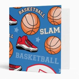 SPORTS Basketball Slam Dunk Fun Athlete Pattern Binder