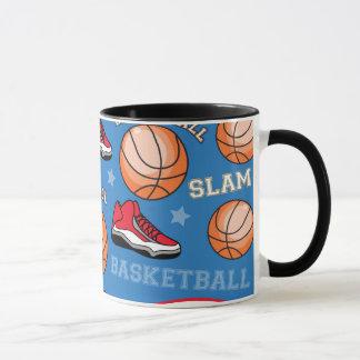 SPORTS Basketball Slam Dunk Fun Athlete Pattern Mug