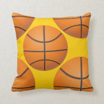 sports basketball throw pillow