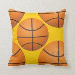 sports basketball throw pillow