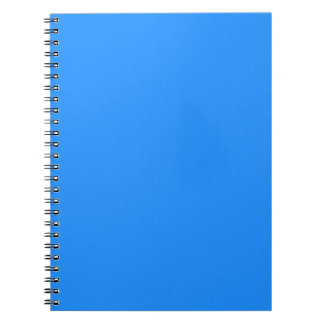 Sports Blue Classy One Color Note Book
