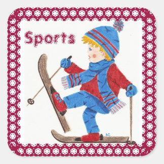 Sports books stickers