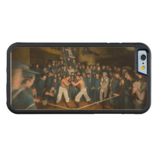 Sports - Boxing - The Second round 1896 Carved Maple iPhone 6 Bumper Case