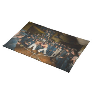 Sports - Boxing - The Second round 1896 Cloth Placemat