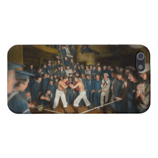 Sports - Boxing - The Second round 1896 Cover For iPhone SE/5/5s