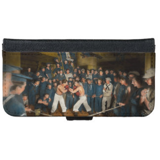 Sports - Boxing - The Second round 1896 Wallet Phone Case For iPhone 6/6s
