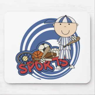 Sports Boy - Baseball Tshirts and Gifts Mouse Pad
