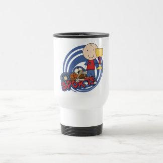 Sports Boy Champ T-shirts and Gifts Travel Mug
