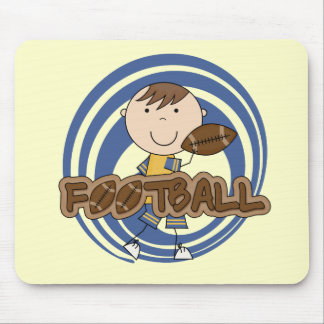 Sports Boy Football Player Tshirts and Gifts Mouse Pad