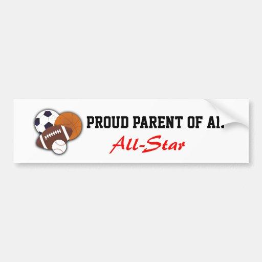 Sports Bumper Sticker
