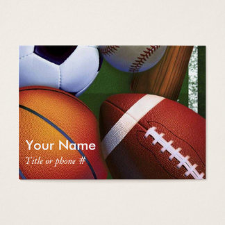 Sports Business and Profile  Cards Template