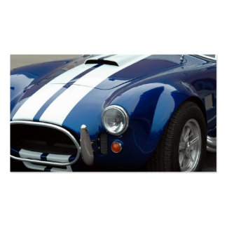 Sports Car Double-Sided Standard Business Cards (Pack Of 100)