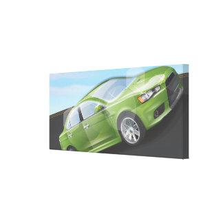 Sports Car Canvas Prints