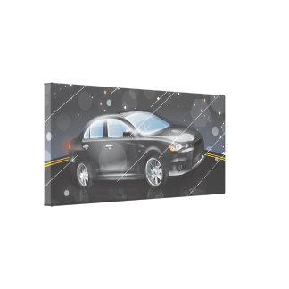 Sports Car Stretched Canvas Prints
