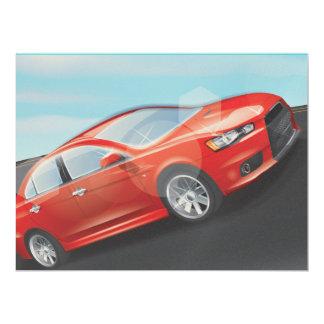 Sports Car Card