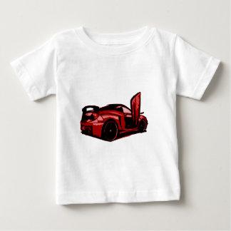 Sports Car Cartoon Graphic Baby T-Shirt