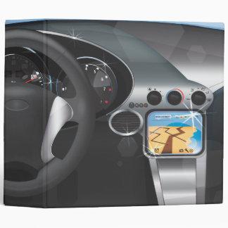Sports Car Dashboard Binder
