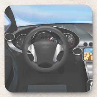 Sports Car Dashboard Coaster