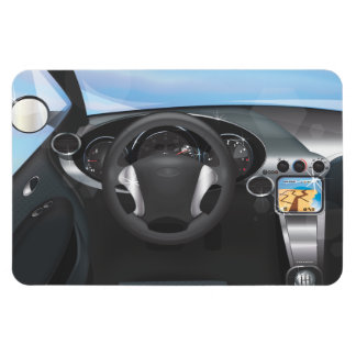 Sports Car Dashboard Magnet
