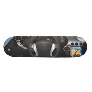 Sports Car Dashboard Skateboard Decks