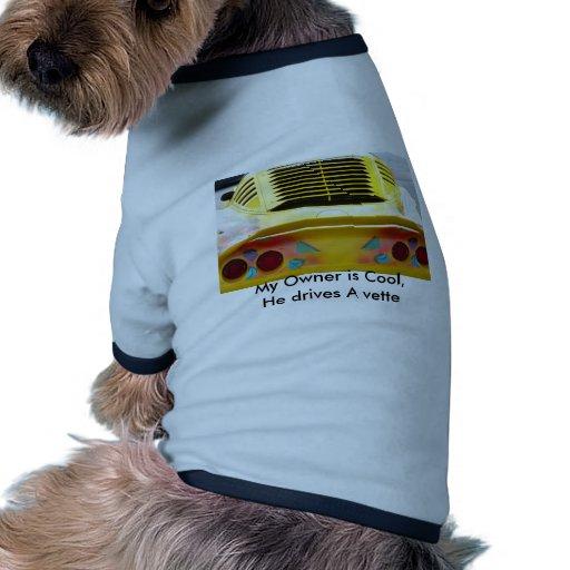 Sports Car Dog Tee