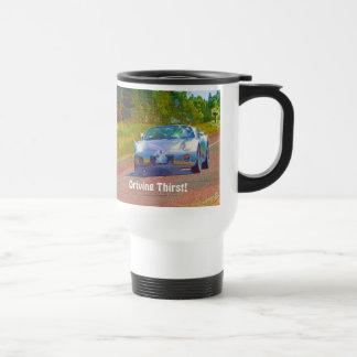Sports Car Drivers Coffee Break Drinkware Mug