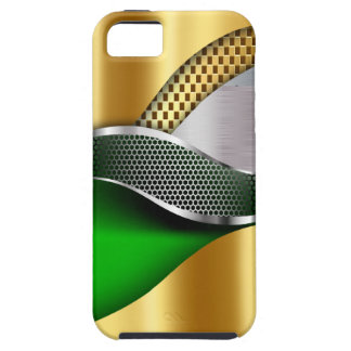 Sports Car Gold Silver Mesh green iPhone 5 Cover