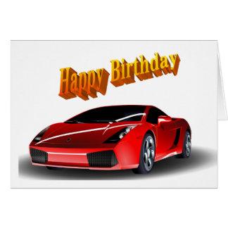Happy Birthday Sports Car Gifts On Zazzle