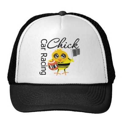 Quotations Auto Racing on Sports Car Racing Chick Hat From Zazzle Com
