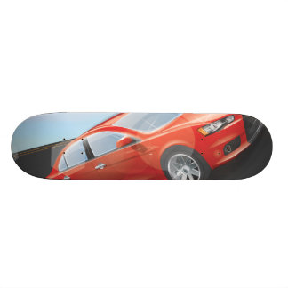 Sports Car Skateboard Deck