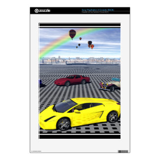 Sports Cars Skin Print Decal For PS3