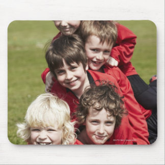 Sports, Children, Football Mouse Pad
