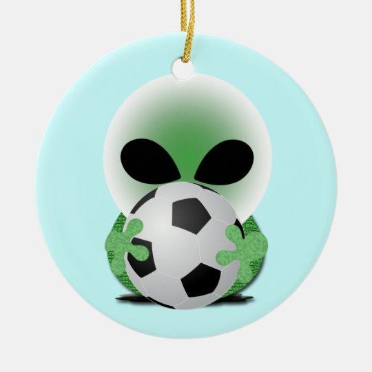 Sports Christmas Ceramic Ornament