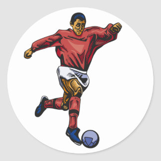 Sports! Classic Round Sticker