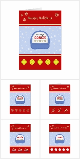 Sports Coach Greeting Cards