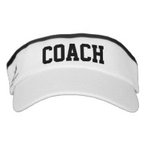 Sports coach sun visor cap hats