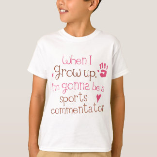 Sports Commentator (Future) Infant Baby T-Shirt