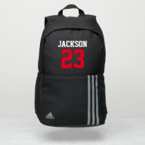Sports Custom Name Number Color | Athletics Adidas Backpack