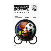 Sports cycling postage