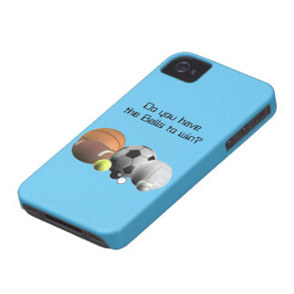 Sports Do you have the Balls to win? iPhone 4 Case