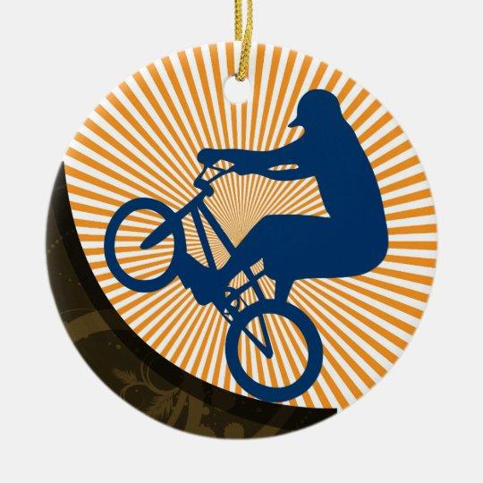 Sports - Extreme Biking - SRF Ceramic Ornament